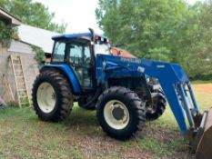 New Holland Tractor with Loader, 1,000 Hours YR 2002 One Owner!