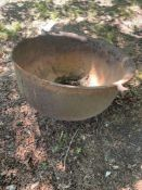 Large Cast Iron Syrup Pot, Large Blacksmith Bellow
