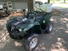 Yamaha Grizzly 4x4 700F1 Power Steering, 870 Hours