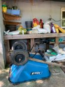 Contents of Shed, Wheelbarrow, Garden Tools &