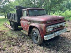 GMC Dump Truck Model 5505, Serial F2733D