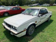 1986 Chevrolet Cavalier RS Convertible