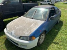 1995 Honda Civic U.S. DX Coupe