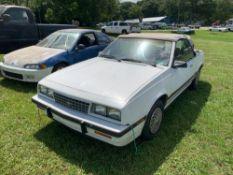 1985 Chevrolet Cavalier Type Convertible