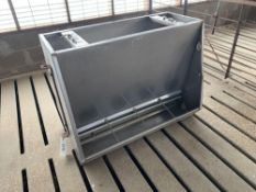 """Stainless Steel Feeders - 40""""Wx24""""Dx32""""H;"""