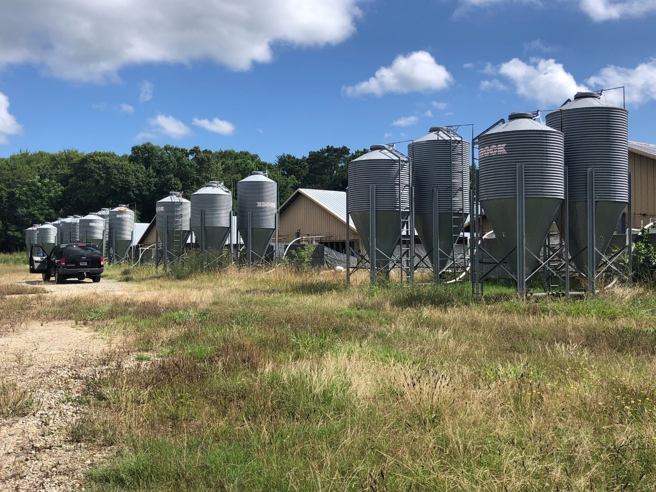 Farm Silos - Vintage Cars - Sound Equipment, & More!  Online-Only-Timed Auction!