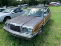 1986 Chrysler Town & Country Station Wagon SOLD FOR PARTS