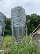 Brock Silo- 5'x5' Base, 20' High, 17' Top Cylinder