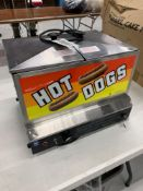 Gold Metal Hotdog Steamer Model 8007