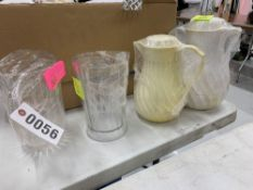 Mixed Lot Pitcher - Water (33), Tea (20), Coffee (