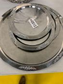 """Serving Trays - 15""""W (3); 25""""W (1), Large Tray"""