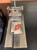 Ellison Letter Machine; Club