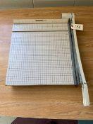 Paper Cutter Boston #2618