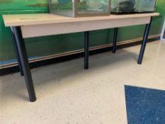 "HD Laminated 5-Leg Table 30""Dx6'Lx30""H"