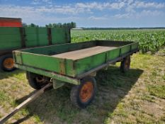 David Bradley 14ft. Flat Bed with Sides