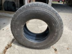 (2) Michelin 425/65R22.5 XZY Tires