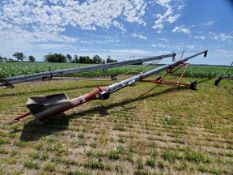 """Mayrath 10""""x62' In-line Drive Auger with Hopper"""