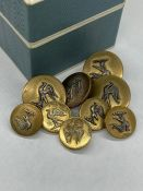 A set of Brass Buttons