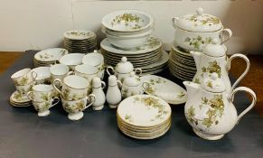 A large selection of Noritake Ireland dinner and tea service