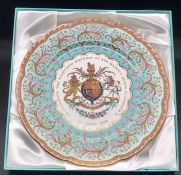 A royal Collection 80th Birthday of HM Queen Elizabeth II Limited edition charger 192/1000