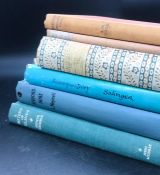 """A selection of six books, early or First Editions to include: """"Boston (Botolph's Town)"""" by AM"""