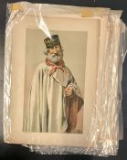 A group of originals and repros Vanity Fair chromolithographies of Victorian personalities and