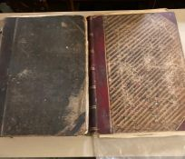"""A pair of hardcover """"The Illustrated London News"""", comprising most of 1882 Vol.81 and 1844. (2)"""