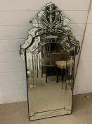 A Venetian Mirror 120 x 60 cm