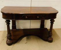 A serving table (H74cm W122cm D57cm)