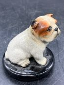 A small china Bulldog