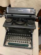 An Imperial typewriter