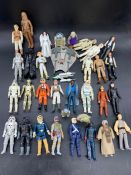 A selection of Starwars figures