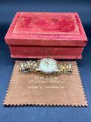 An Omega Constellation Calendar Automatic Chronometer watch in original vintage box