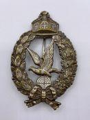 WWI Prussian Air Gunner Badge.