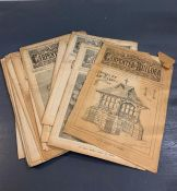 Sixteen copies of The Illustrated Carpenter and Builder