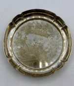 A Garrard & Co silver pin dish, hallmarked London 1971