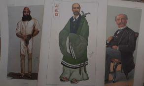 A group of 16 Vanity Fair prints. (16)