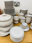A twelve piece Denby fine stoneware from Coloroll England, to include various sizes plates, tureens,