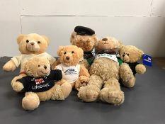 A selection of teddy bears