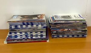 A Selection of Vintage QPR Football programmes.