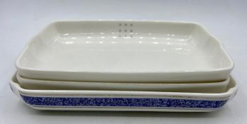 A Selection of three British Airways Royal Doulton dishes.