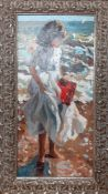 """Sherree Valentine Daines (b.1959) British, """"Evening paddle"""", signed and numbered 135/195, special"""