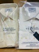 Four sealed Charles Tyrwhitt shirts 16.5 collar