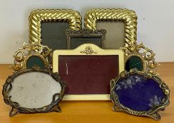 A selection of picture frames