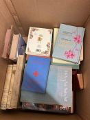 A small selection of hardback books