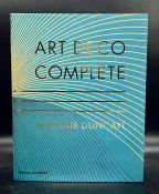"""A large reference book """"Art Deco Complete"""" by Alastair Duncan, hardback"""
