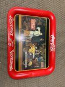 A Coca Cola Tray