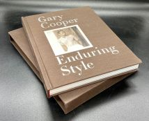 """""""Gary Cooper Enduring Style"""" hardback cased book by Maria Cooper Janis (Pub 2011)"""