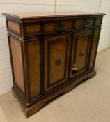 """A Theodore Alexander side cabinet with two drawers and cabinet under in the """"Chateau Du Valois"""""""