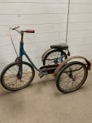 A Pashley child's tricycle with the words pickle on the side
